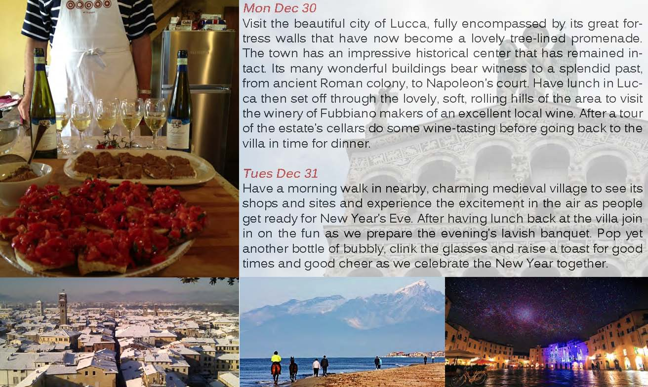New Years Tour to Tuscany 2014 | Ludwigs RosesLudwigs Roses
