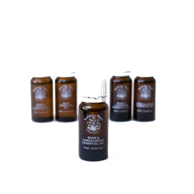 Rose & Sandalwood Essential Oil 10ml