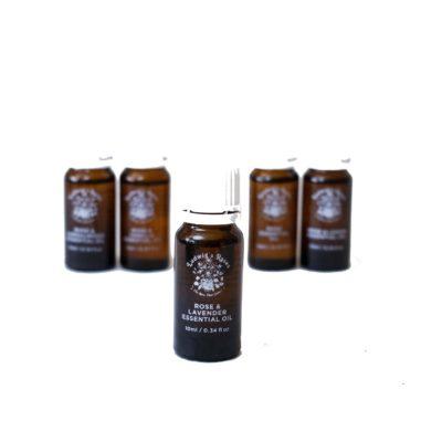 Rose & Lavender Essential Oil 10ml